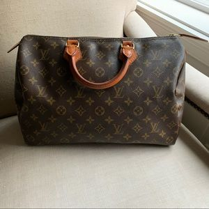 Louis Vuitton Speedy 35 EUC